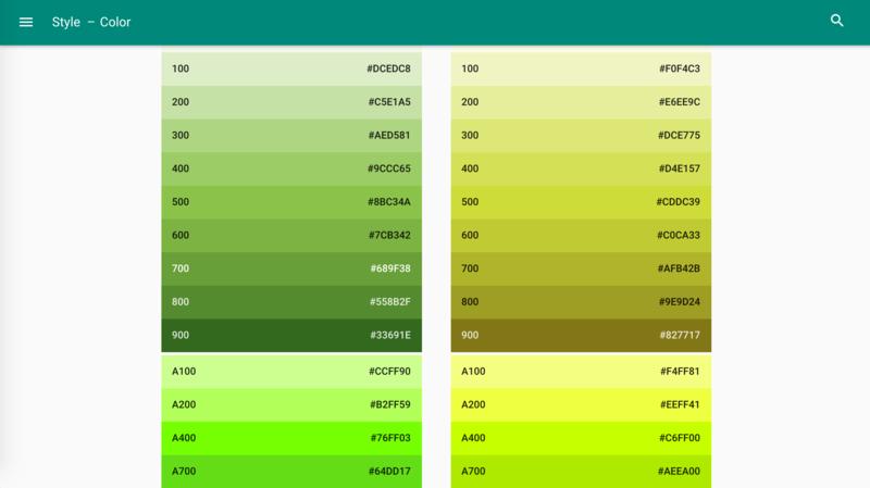 色の濃淡具合を教えてくれるツール