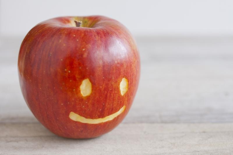 りんごの画像だけど、本当の意味は・・・?